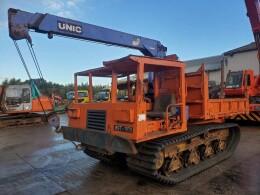 MOROOKA Carrier dumps MST-1100