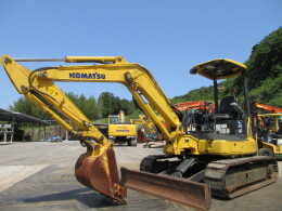 KOMATSU Mini excavators PC40MR-3 PAD・併用配管                                                                         2012