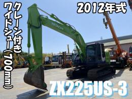 HITACHI Excavators ZX225US-3 2012
