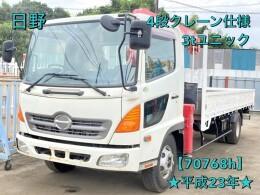 日野 クレーン車 BDG-FC6JKWA 2011年7月