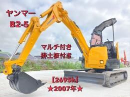 YANMAR Mini excavators B2-5 2007
