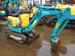 KUBOTA Mini excavators U-008                                                                         2012