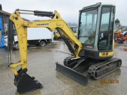 YANMAR Mini excavators ViO27-5B キャビン仕様 2012