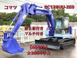 KOMATSU Excavators PC128UU-2E0 2004