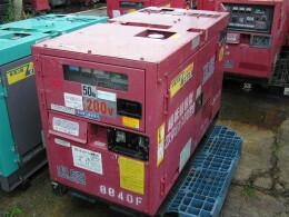 デンヨー 発電機 4台セット販売 DCA-13EKS &  DAC-13SPK                                                                         2006年