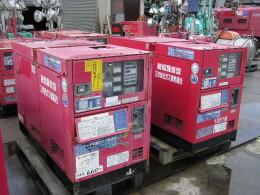 デンヨー 発電機 4台セット販売 DCA-25ESI2 & DCA-25LSK & DCA-25ESI                                                                         2007年