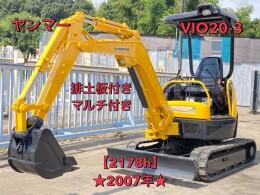 YANMAR Mini excavators ViO20-3 2007