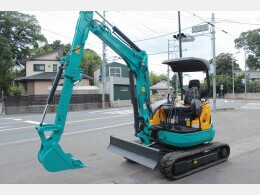 KUBOTA Mini excavators U-30-5 テレスコアーム                                                                         2011