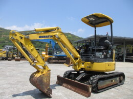 KOMATSU Mini excavators PC20MR-3                                                                         2014