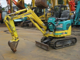 YANMAR Mini excavators SV08(SV08-1A)可変脚仕様(ROPSバー仕様)                                                                         2011