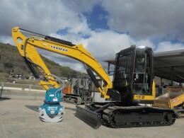 YANMAR Mini excavators ViO50-5 ロータリーグラップル 新品                                                                         2007