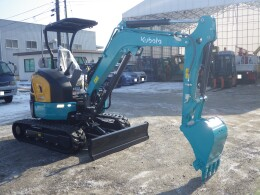 KUBOTA Mini excavators U-30-6                                                                         2017