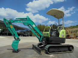 YANMAR Mini excavators Vio15-2A マルチ・全塗装済み                                                                         2007