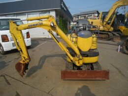 KOMATSU Mini excavators PC10MR-2                                                                         2008