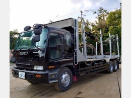 KC-CYZ81V1 クレーン付き材木運搬車 更新車検付き