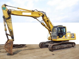 KOMATSU Excavators PC210LC-8N1 2ピースブーム 併用配管 解体機                                                                         2008