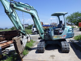 YANMAR Mini excavators B-50