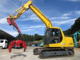 KOMATSU Excavators PC120-6E0 林業用プロセッサー イワフジ GP35A                                                                         2004