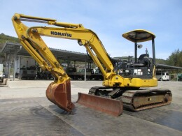 KOMATSU Mini excavators PC40MR-3 PAD・併用配管・マルチ                                                                         2014