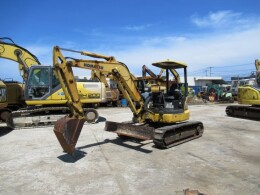 KOMATSU Mini excavators 【2 units set】PC40MR-3                                                                         2010