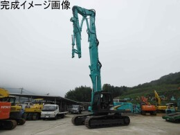 KOBELCO Excavators SK350DLC-8 解体仕様 2ピースブーム ・3段ロングフロント・大割機・標準バケット付き                                                                         2007