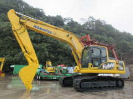 KOMATSU Excavators HB205-1 往復配管・クレーン・ハイブリッド                                                                         2012