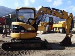 CATERPILLER Mini excavators 303SR                                                                         2006