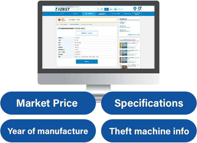 Market price/Database search service